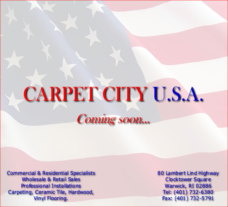 CARPET CITY U.S.A.